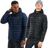 Ellesse Lombardy Padded Jacket - Black, Blue - S, M, L, XL