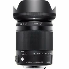SIGMA 18-300mm F3.5-6.3 DC MACRO HSM CONTEMPORARY FOR SONY 'A' & BONUS 32GB USB