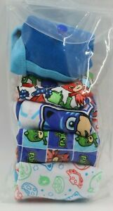 Toddler Boys PJ Masks 5 Pack Multi Color Briefs Underwear Size 2-3T NEW