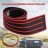 Universal Rear Trunk Bumper Sill Rubber Pad Guard Plate Cover Trim Protector