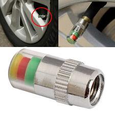 2.4Bar Car Tyre Valve Stem Caps with Pressure Indicator Monitor Sensor Alert