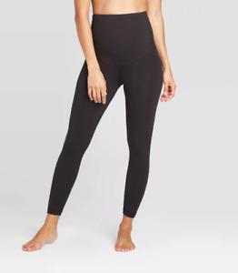 Women's Postpartum Active Maternity Leggings - Isabel Maternity -Black -XL -S485
