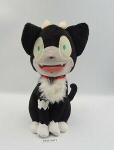 """Blue Exorcist MB1601 Kuro Cat Recommembers Banpresto 2013 Plush 12"""" Doll Japan"""