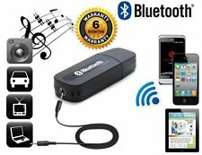 USB Bluetooth Stereo Music Receiver 3.5mm Adapter Dongle For Speakers Car MP3_1