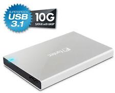 """FANTECALU-25B31 2.5"""" Festplatten / SSD Gehäuse - USB 3.1 SUPERSPEED+  Alu - NEU"""