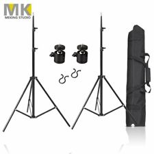 """2 Pcs 80"""" Photography Aluminium Alloy Stands W/ 1/4"""" Ball Head, Bag For VIVE VR"""