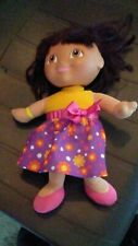 "Dora The Explorer Singing Birthday Dora 12"" Doll Fisher-Price batteries included"