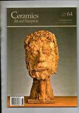 CERAMICS ART AND PERCEPTION INTERNATIONAL MAGAZINE 2006 ISSUE 64 VG COND