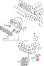 Genuine VW Bulb Holder NOS VW Lt 4X4 Polo Derby Vento-Ind 701953124A