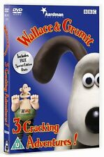 Wallace & Gromit Three Cracking Adventures DVD Nick Park Brand New and Sealed