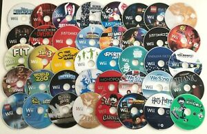 Nintendo Wii Games - Disc Only - Choose a Game or Bundle Up - Massive Selection