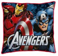 """Official Marvel Comics Avengers """"Reversible"""" Character Filled Cushion"""