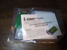 L-com DGBH15FT SVGA HD15 Jack For Field Termination