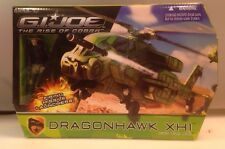 GI Joe Rise Of Cobra Dragonhawk XH1 Helicopter With Wild Bill