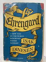 Ehrengard 1st First Printing Random House 1963 By Isak Dinesen Hardback Vintage