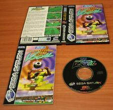 Jeux Sega Saturn   sega sport international victory goal  complet VF