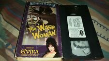 The Wasp Woman Hosted By Elvira VHS Horror Classic