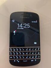 BlackBerry  Q10  - Schwarz (Ohne Simlock) Smartphone 16GB