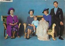 Royalty postcard four generations