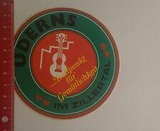 Aufkleber/Sticker: Uderns Im Zillertal (07121653)