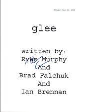 Darren Criss Signed Autographed GLEE Pilot Episode Script COA VD