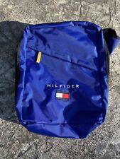 Vintage Tommy Hilfiger Backpack Flag Spellout Logo Bookbag Bag Athletics 90s
