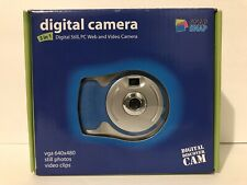 Snap Snap Digital Camera 3in1 Digital still PC Wed and Video Camera Blue/Silver