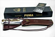 German Puma White Hunter Classic Collectors Knife Included Certification & Box !