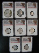 """2017 S LIMITED EDITION PROOF SET """" NGC PF 70 ULTRA CAMEO"""" ALL 8 COINS W/OGP"""