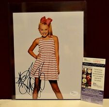 Jojo Siwa Signed Autograph 8x10 Photograph JSA COA Picture Photo