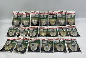 Philips Halogen Accent MR-16 20 Watt 12 volt Lot of 20 Bulbs New Old Stock