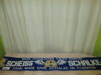 """Dortmund,Bochum Anti Schalke Schal """"WENN ARSCHLÖCHER FLIEGEN KÖNNEN SCHEISS ..."""""""
