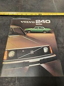 1975 Volvo 240 Series Brochure