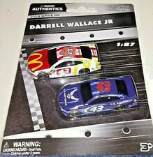 NASCAR AUTHENTICS 2019 1/87 #43 BUBBA DARRELL WALLACE JR. 2 CAR SET WAVE 2 NEW!