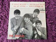 "The Beatles – It Won't Be Long  Vinyl 7"" EP 1964 Spain DSOE 16.577 1st Pressing"