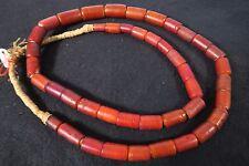 Antiguedad abalorios cornalin dáleppo Antique Venetian trade beads Yellow Hearts