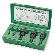 Hole Cutter Kit,5 PC,Tungsten Carbide GREENLEE 635