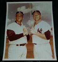 Mickey Mantle & Roger Maris 8X10 Photo Kodak Paper High Quality Photo
