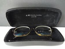 Masunaga 021 Sunglasses Eyeglasses Frames Horn Rimmed Classic Rare Made in Japan