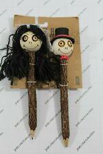 Bride and Groom Crazy head pencils