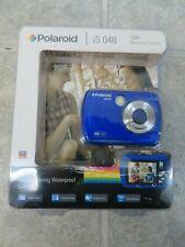 Polaroid iS048 Blue Sealed 16MP Waterproof Digital Camera