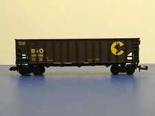 "N Scale ""Baltimore & Ohio"" B&O 189090 3-Bay Open Hopper Freight Train Car"