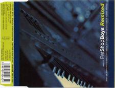 Pet Shop Boys – Where The Streets Have No Name Remixed - Maxi CD Single © 1991
