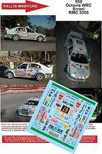 DÉCALS 1/18 réf 950 Skoda Octavia WRC Errani Monte Carlo 2005