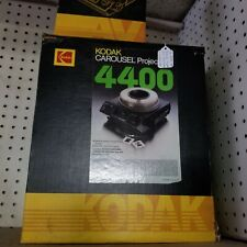 Kodak 4400 Carousel Slide Projector Lens,Slide Tray w/Extra stack loader