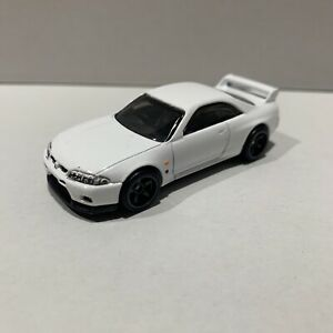 Hot Wheels Nissan Gt r R33 Real Rider Rubber Tyres Loose VHTF