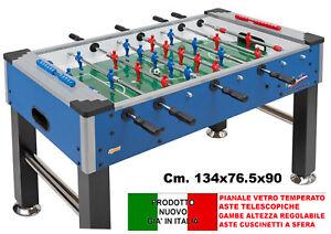 Calcio Balilla Professionale CALCETTO BILIARDINO BAR SALAGIOCHI NUOVO ROBUSTO