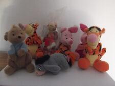 7 Stofftiere Winnie Pooh Puuh Ferkel Esel I-ah Tigger Ruh Mc Donalds Disney OVP
