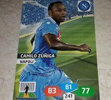 CARD ADRENALYN 2013/14 CALCIATORI PANINI NAPOLI ZUNIGA CALCIO FOOTBALL