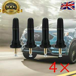 4PCS For Ford Focus 2010+ OE Tyre Pressure Sensor Rubber Valve Stem Replacement
